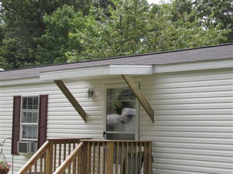 awnings  mobile homes custom built decks mobile home porch door awnings mobile home doors