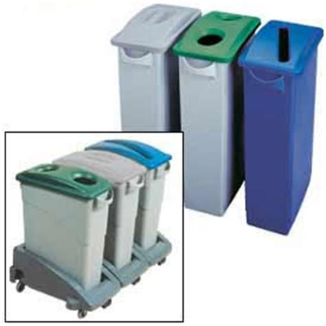 garbage can recycling recycling rubbermaid 174 slim jim