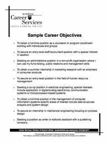 Best 25 Career Objectives Samples Ideas On Pinterest