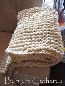 Tricoter Un Plaid En Grosse Laine : jet de canap tricot i love tricot ~ Melissatoandfro.com Idées de Décoration