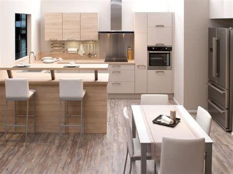 cuisine salle a manger 4 cuisines aviva cuisine ouverte sur salle 224 manger id 233 esmaison