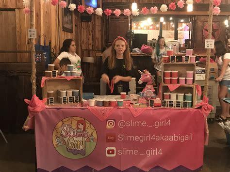 booth ideas atslimegirl youtube slimegirl etsy slimegirlakaabigail slime craft craft