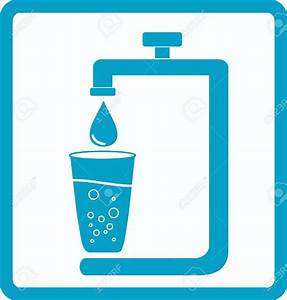 Water supply clipart clipground for Is bathroom tap water drinking water