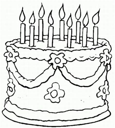 birthday coloring pages learn  coloring