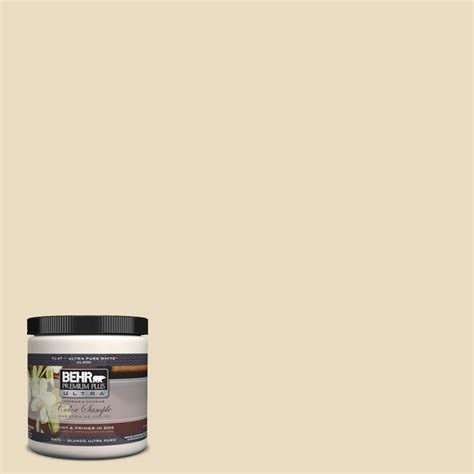 behr premium plus ultra 8 oz 22 navajo white matte