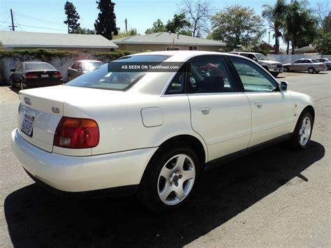 1997 Audi A4 Quattro by 1997 Audi A4 Quattro Base Sedan 4 Door 2 8l