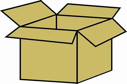 Box Cardboard Clipart Drawing Square Challenge Clip