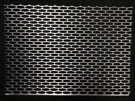 aluminum expanded slotted mesh grill material 12 quot 8 quot sheet
