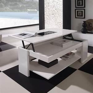 Table Basse Design Italien : table basse relevable design italien blog design d 39 int rieur ~ Melissatoandfro.com Idées de Décoration