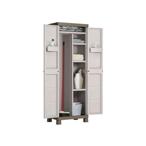 armario de resina escobero  exterior