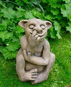 Large garden troll statue ornament for Garden trolls
