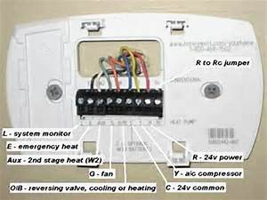 30 Wiring Diagram For Honeywell Thermostat