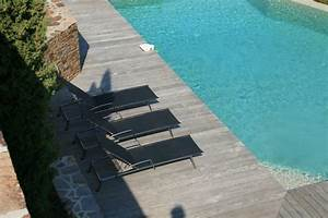 selection chaise longue et transat autour de la piscine With transat de piscine design