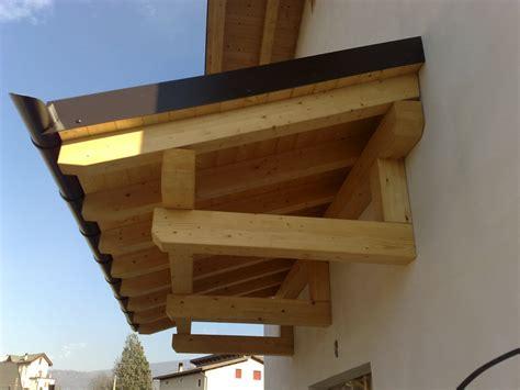 Pensiline Ingresso - pensiline ingresso btm coperture in legno lattoneria