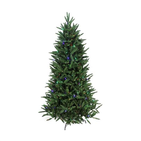 fake tree with lights northlight 7 5 39 pine artificial christmas tree with clear