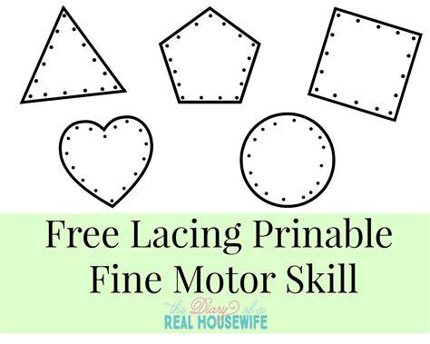 free motor skills worksheets for kindergarten early