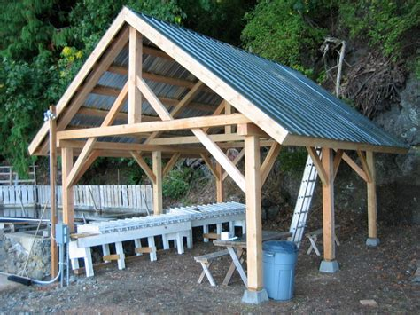 Get Build A Shed Post And Beam