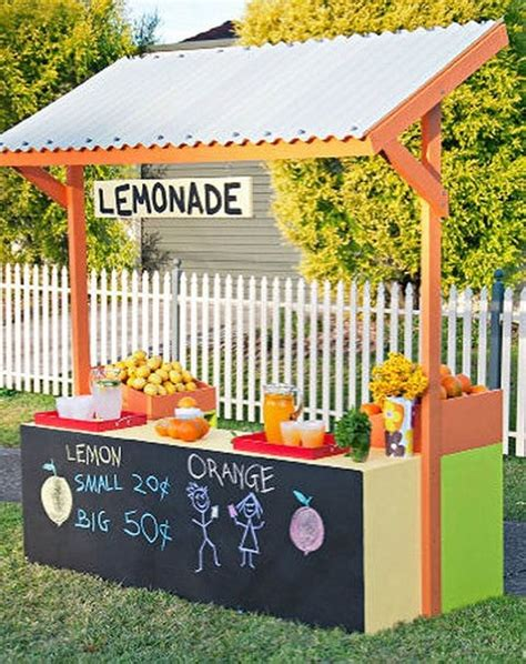 build a standing 9 stylish lemonade stands to wet your whistle apartment