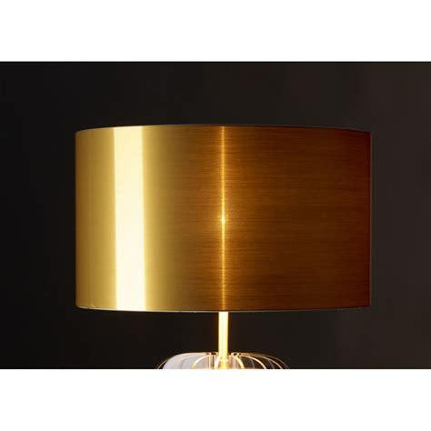 abat jour contemporain design le transparente en plexi et abat jour or argent ou cuivr 233 44 lights design