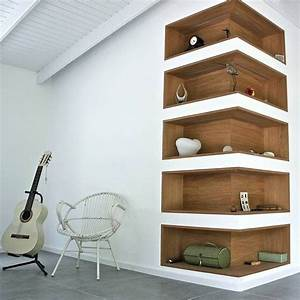 The coolest wall shelves that you will have to check for Out of the box corner wall shelves