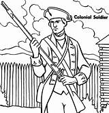 Coloring Soldier Pages Colonial Military Colonies Roman Ross Betsy Soldiers Printable Getcolorings Getdrawings Mud Colorings sketch template