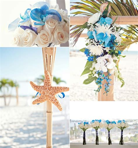 beach wedding flower arrangements massvncom