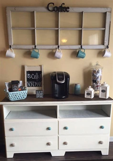 Check out these special design that may suit your house you may be familiar with the term mini bar, so there is no surprise if there is also a mini coffee bar. 49 Exceptional DIY Coffee Bar Ideas for Your Cozy Home | Homesthetics - Inspiring ideas for your ...