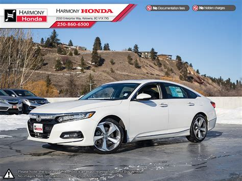 2019 honda accord sedan new 2019 honda accord sedan touring 2 0 4 door car in