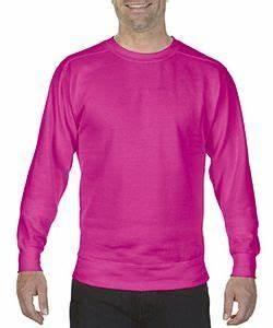 fort Colors 1566 Garment Dyed Crewneck Sweatshirt