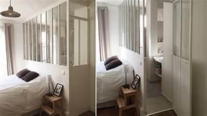 15 inspirations pour une verriere interieure With faire une salle de bain dans une chambre