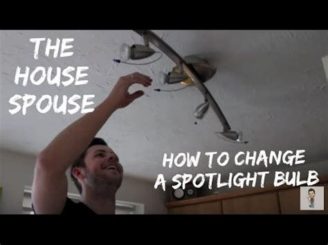 How To Change A Spotlight Halogen Bulb  The Housespouse