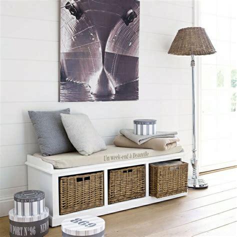le banc de rangement un meuble fonctionnel qui personnalise le d 233 cor archzine fr