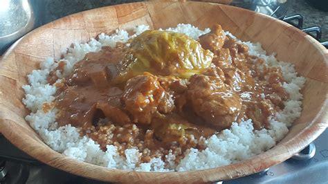 mali cuisine tiguadégué na riz à la sauce mafé naturelle