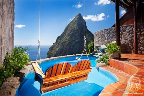 Ladera St Lucia Resort Heaven On Earth Lux Exposé