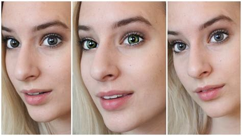 contacts colored best colored contacts for brown