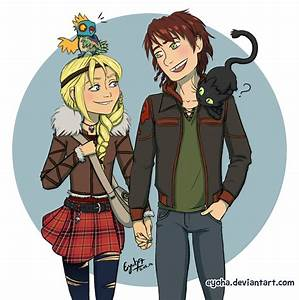 Httyd 2 - Hiccup and Astrid by Eyoha on DeviantArt