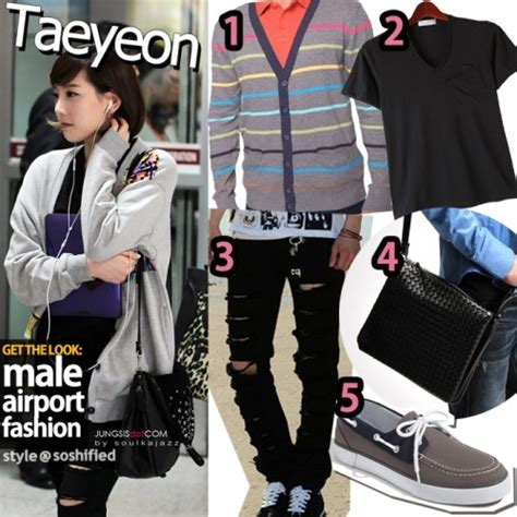 striped slippers get the look airport fashion version the