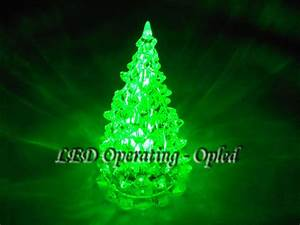 PMMA Christmas Tree Light, led christmas tree lamp Green ...