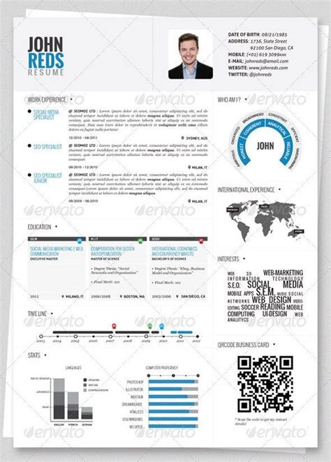 Free Resume Creation by 37 Stylish Graphicdesignresume Templates Graphic Design
