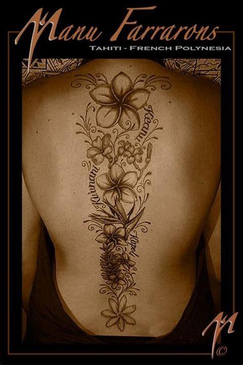 Tatouage Femme Colonne Vertébrale