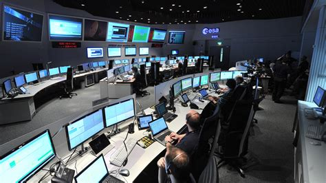comet landing      rosetta control room channel  news