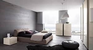 Idée Peinture Chambre Adulte : la chambre grise 40 id es pour la d co ~ Preciouscoupons.com Idées de Décoration