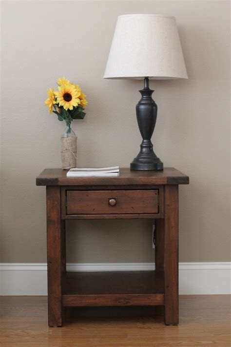 Bedroom End Tables Plans by White Benchwright End Table Diy Projects