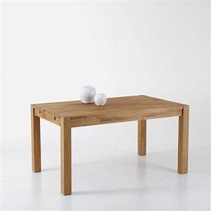 Table De Salon La Redoute : la redoute table rectangulaire 2 allonges ch ne massif 6 10 couverts adelita 399 bureau ~ Voncanada.com Idées de Décoration