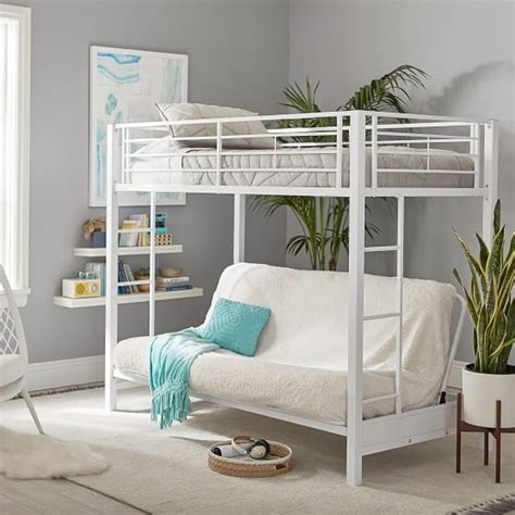 Bedroom Source Loft Beds by Ellis Metal Loft Bed Pbteen