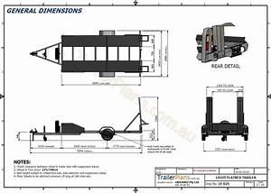 Single Axle Flatbed 2200