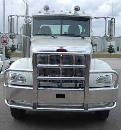 peterbilt  bumper set  axle heavy duty semi truck