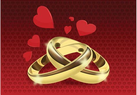 wedding rings vector   vector art stock graphics images