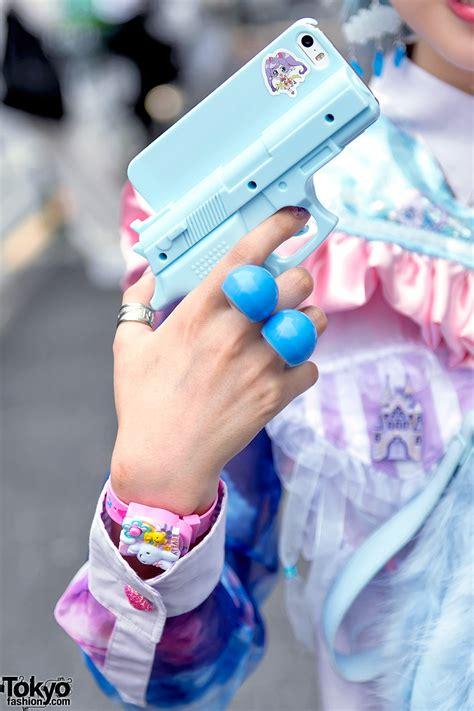 harajuku girl  pastel weapon fluffy heart bag loose