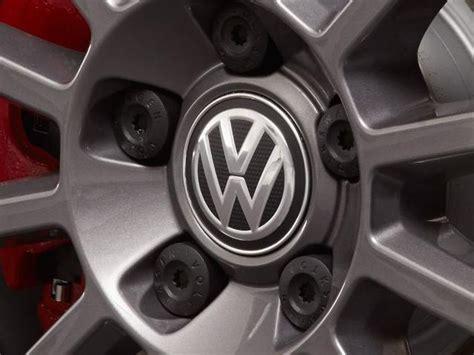 volkswagen golf  wheel center cap carbon fiber